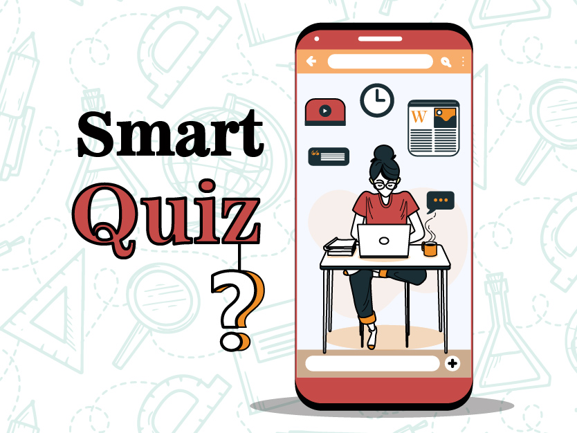 subject-wise smart quizzes